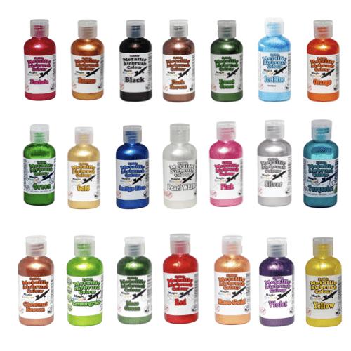 Metallic Airbrush Farbstoffe - Magic Colours