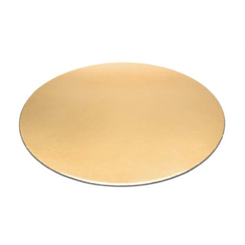 Kuchen Cartons Gold-ROUND